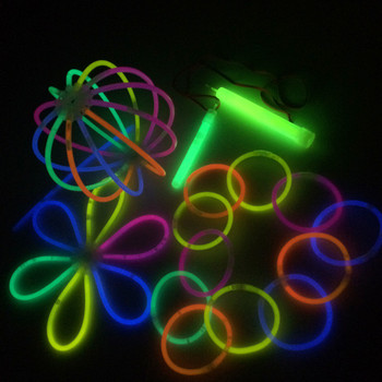 Glow In The Dark Bracelet Ce Rohs Standard Safe For Children Used Concert And