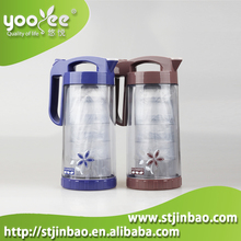 BPA Free Food Grade Customized Plastic Drinking Jug Kettle with Cups Set