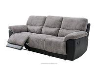 decoro leather 3 seater auto seat recliner sofa 9488B-3
