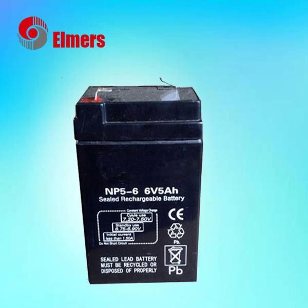Professional high temperature resistant 6v 5ah MF battery