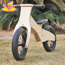 wholesale cheap metal wheel wooden balance bicycle for kids 2-6 years W16C169
