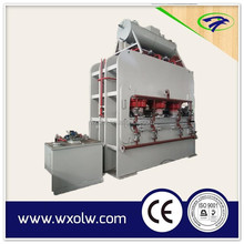 1200T short cycle hot press machine for furniture plate