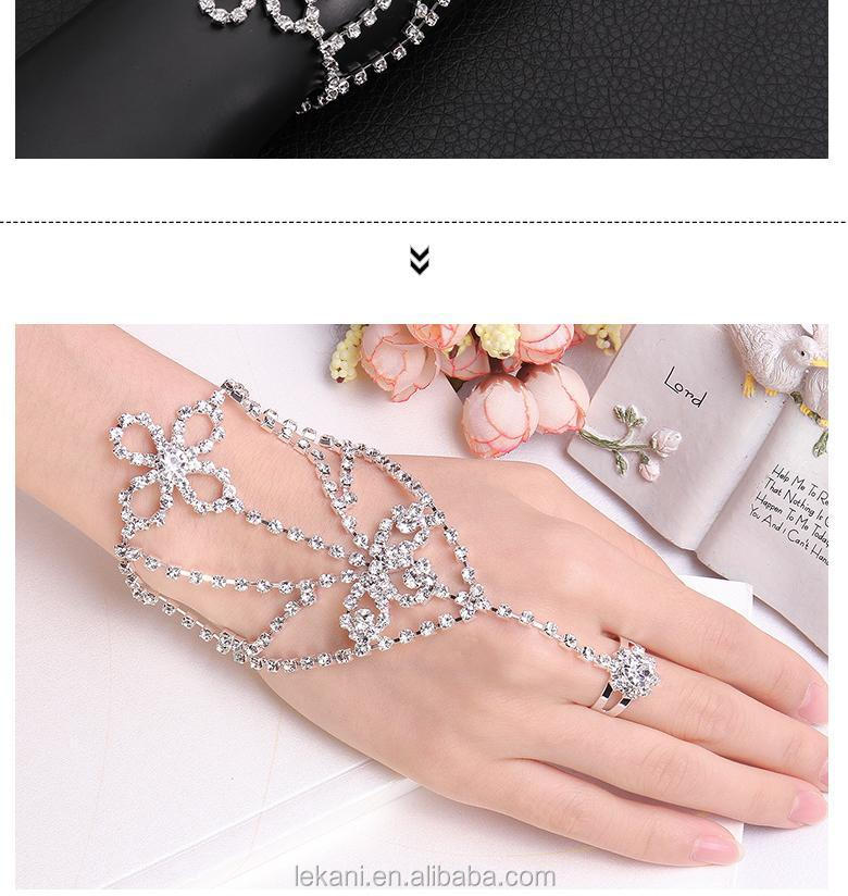 Trendy Stylish Young Girl Best Gifts Metal Ring Bracelet ...