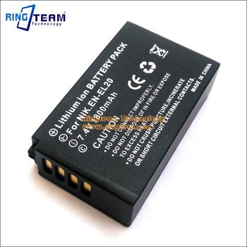 S1//Nikon Coolpix A J1 J3 J2 EN-EL20 Batería recargable para Nikon 1 AW1