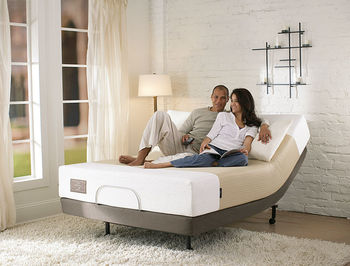 Zero Gravity Adjustable Bed Without Legs In Bed Frame