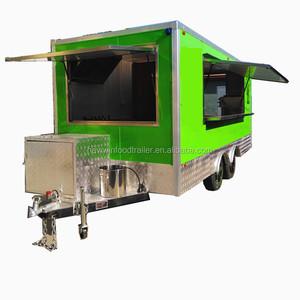 CE approved used van trucks japan food truck
