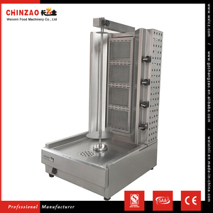 CHINZAO Most Demanding Products In The World 50W Power Shawarma Equipment