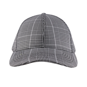 China Check Baseball Cap 0921e2eacd00