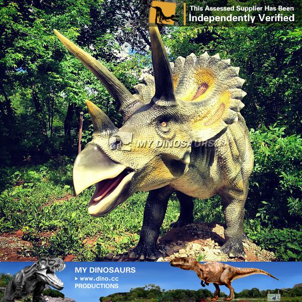 N W Y 35 Kids Dinosaur Slide Outdoor Triceratops Using In