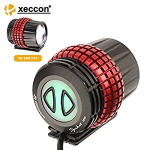 XECCON Spiker 1210s Rechargeable Front Cycling Bike Light 1600Lm