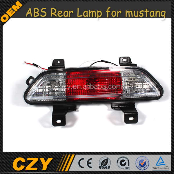 High Quality ABS Rear Tail Fog Lights Lamp for Ford Mustang 2015 up