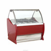 Italian gelato ice cream dipping cabinets/ used ice cream showcase freezers