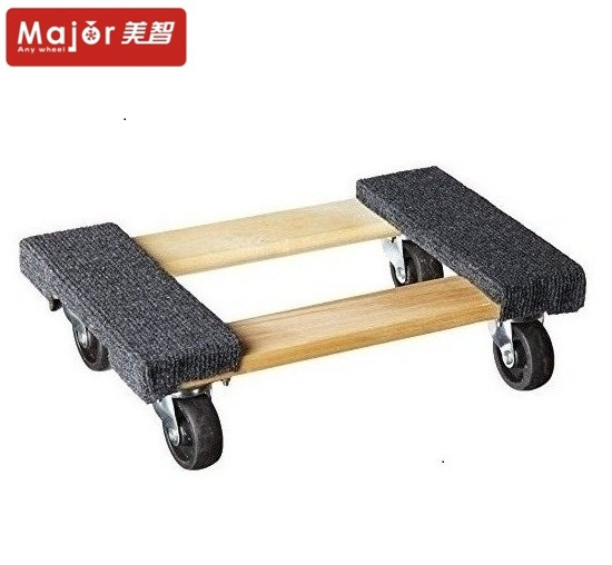 Household Tool Set Wooden Storage Pallet Dolly Trolley Carts