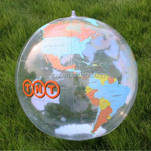 inflatable beach ball in bulk with logo printing