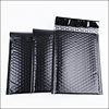 black packing & printing poly bubble pad wrap poly mailer poly bag