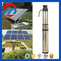 DC solar powered water fountain pump kits for irrigation