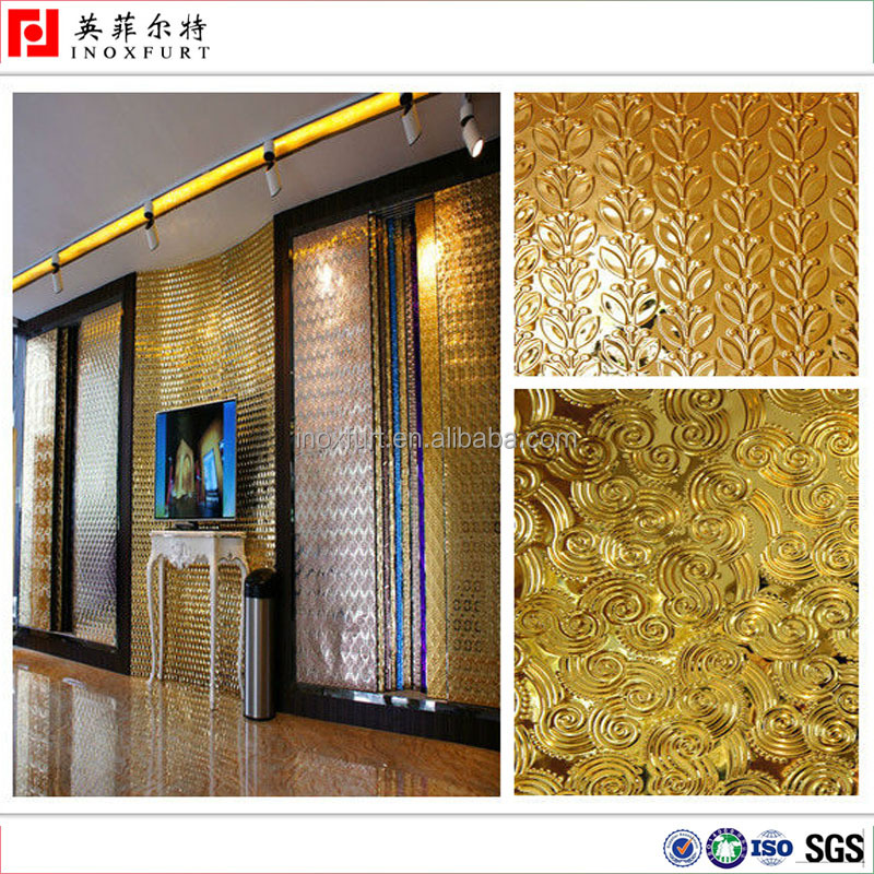Decorative Embossed Color Stainless Steel Sheet