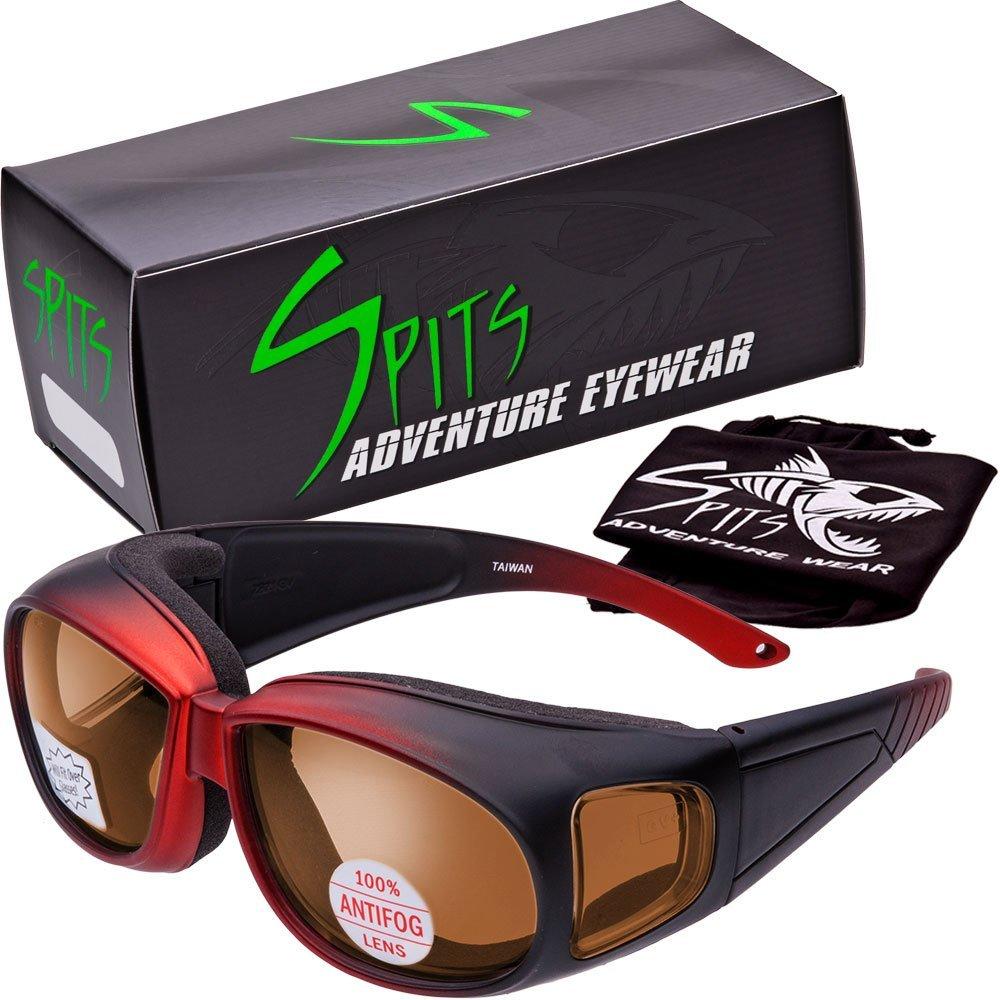Escort Safety Glasses Over-Prescription Most Prescription Eyewear Driving Mirror Lenses Tortoise Print Camo Frame Global Vision