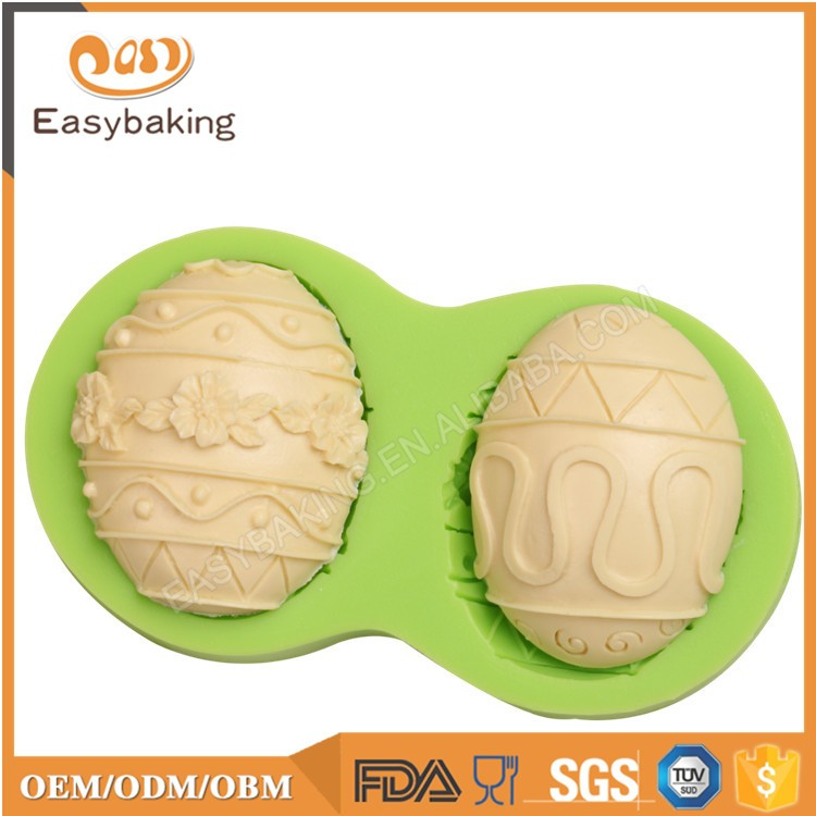 ES-2207 Easter Themed Fondant Mould Silicone Molds for Cake Decorating