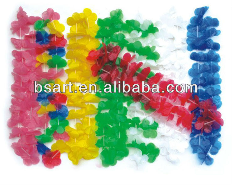 Cheapest Hawaii plastic flower lei