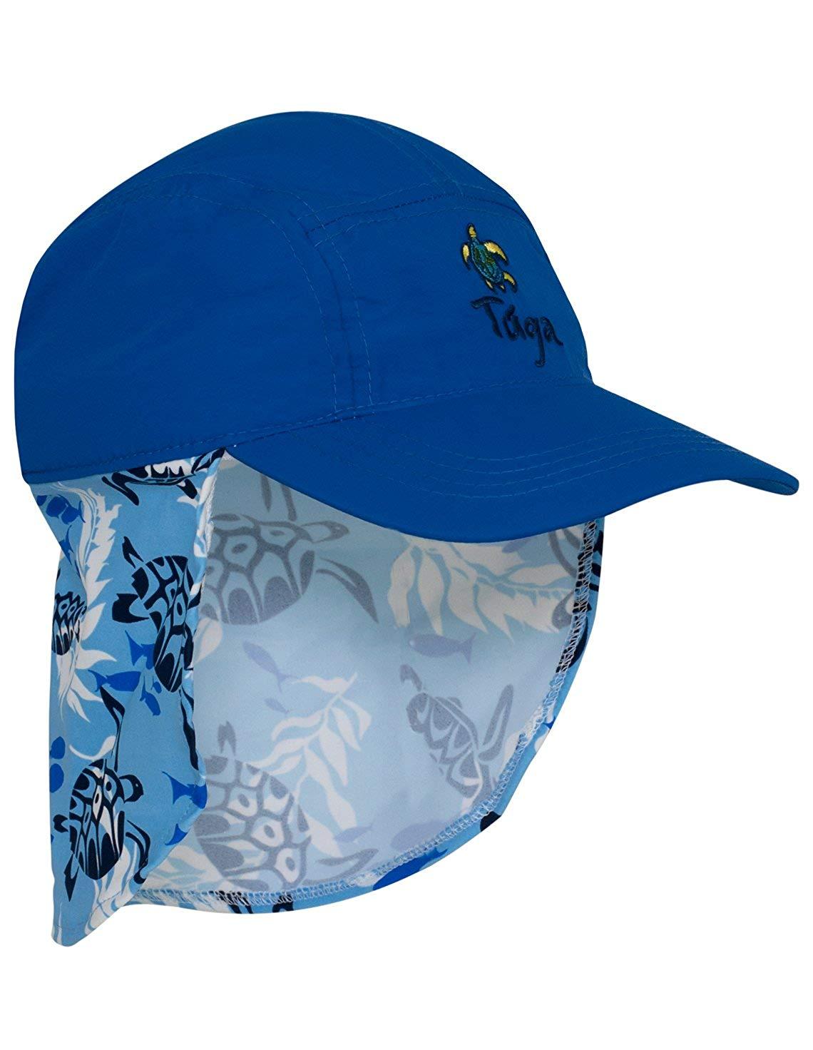 67195616b41 Get Quotations · Tuga Boys Flap Hats - UPF 50+ Sun Protection Sun Hats