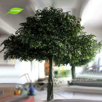 GNW BTR1046 Large Outdoor Artificial Trees For Office Decoration 3m High