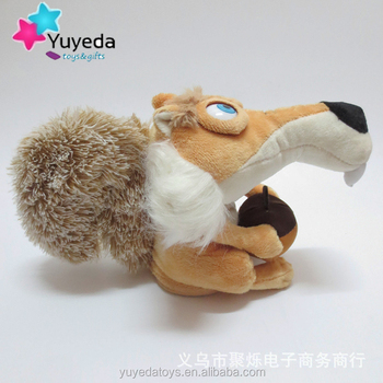 Head Move Squirrel Talking Plush Toy Repeat Any Language Baby