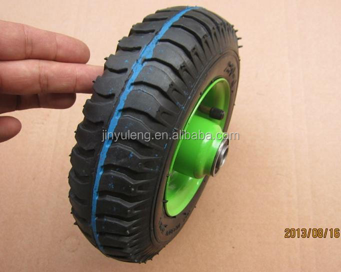 8inch(8x2.50-4) wheel barrow wheel for hand truck,hand trolley,lawn mover,weelbarrow,toolcarts