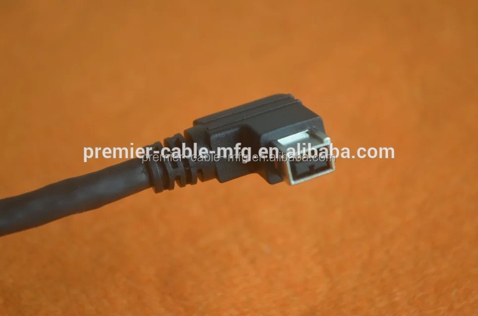 6 FT 1394B 9-pin to 6-pin Cable