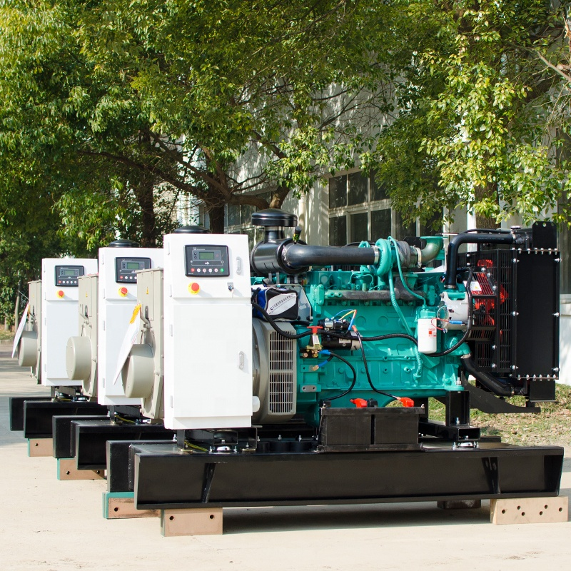 Powered by Cummins engine 6ZTAA13-G2 475kva 380kw 500kva 400kw diesel generator set for factory electricity power
