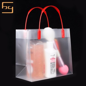 Hot Sale Eco Custom Oxo Biodegradable Clear white PP Plastic Shopping Bag With Handle