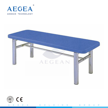 AG-ECC05 304 Stainless steel portable examination couch medical examination table with ISO, CE