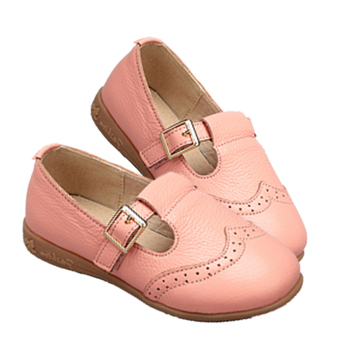 free sample lovely girls dress shoes girls pu upper closed flat shoe