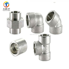 304 or 316 stainless steel construction pipe fittings