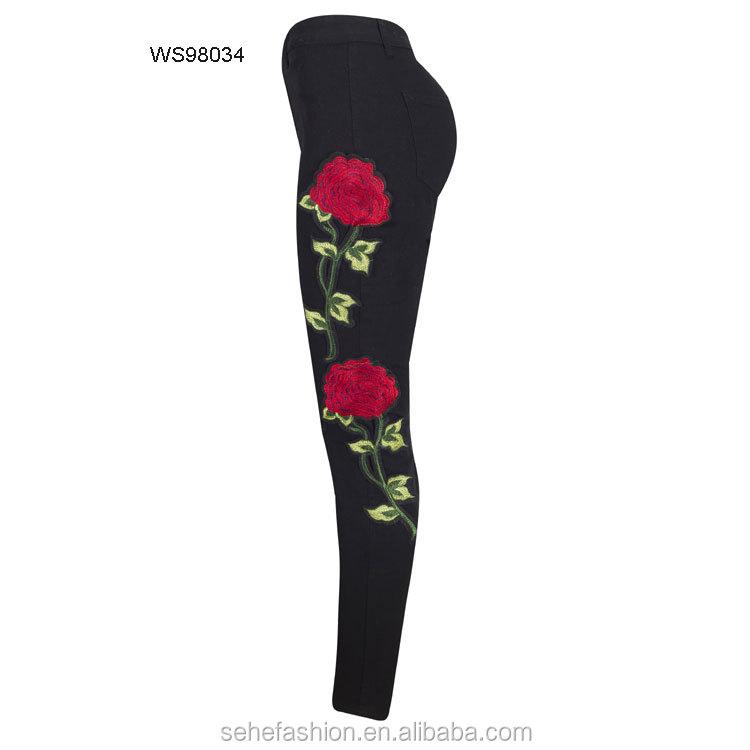 7b3506d7f6 China Denim Trouser Pants