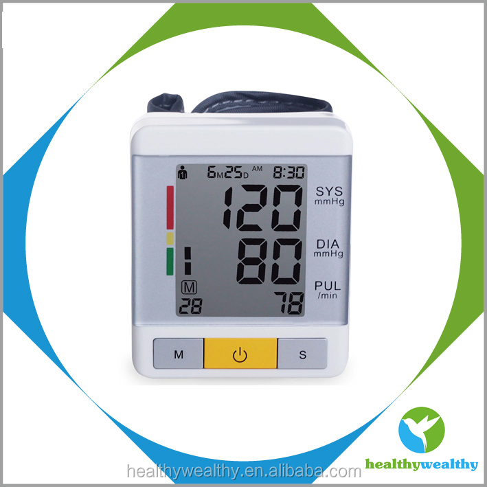 Automatic Wrist Electronic Blood Pressure Monitor