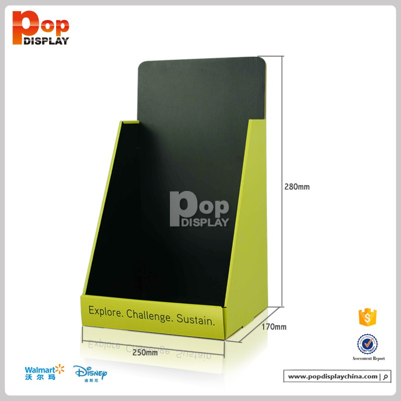 point of sale display template - pop up cardboard book counter display for books point of