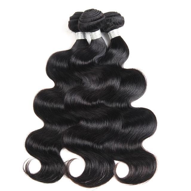 8A Grade Virgin Hair 3 Bundles Body Wave Virgin Peruvian Hair Weave Bundles