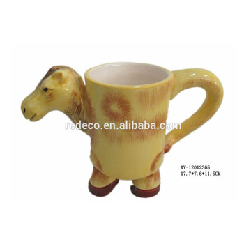 Decorative Ceramic Mini Camel Shaped Cup Mug Product On Alibaba