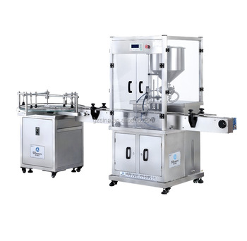 Fiiling speed adjustable single head, four heads, double heads automatic cream&paste filling machine