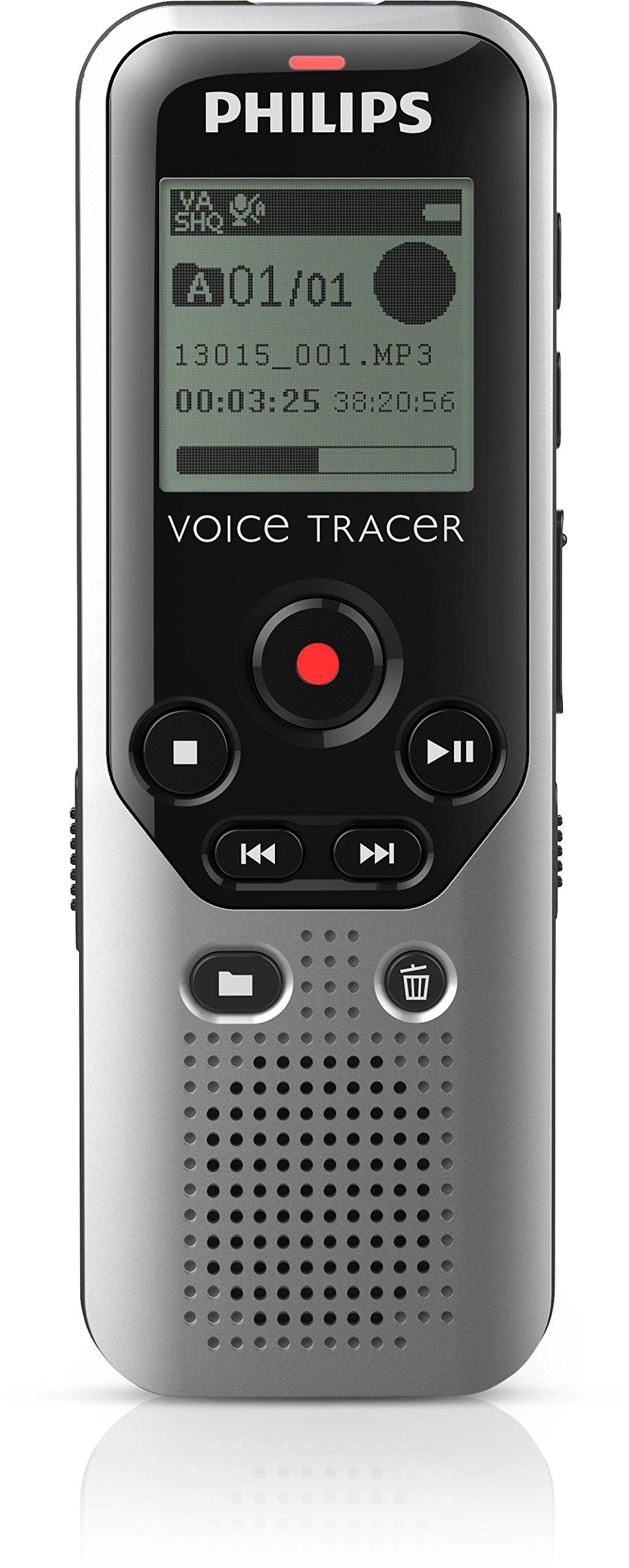 Philips Speech 4GB Voice Tracer 1200 Digital Recorder