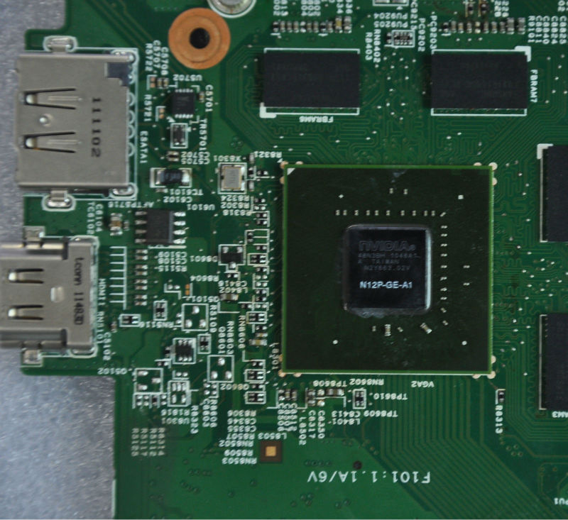Laptop Motherboard For Dell Inspiron N5110 Non-integrated ...