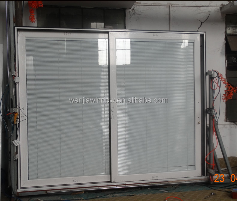 Quality aluminium sliding <strong>door</strong> with insert blind