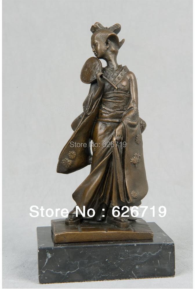 achetez en gros japonais statue en bronze en ligne des grossistes japonais statue en bronze. Black Bedroom Furniture Sets. Home Design Ideas