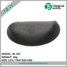 Personlized EVA oval triangle glasses case reading eyewear boxes custom sunglass printer logo