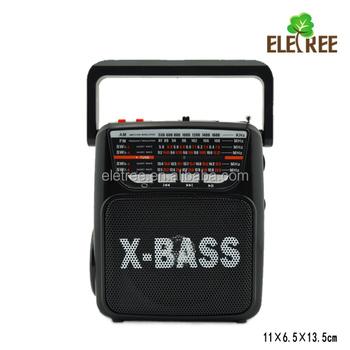 El-218u Digital Am Fm Sw1 Sw2 Radio Mp3 Player With Ac Dc Power ...