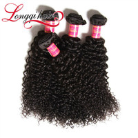 "5A Wholesale Brazilian Virgin Hair Curly Blonde Weave 20"" Half Head Temple To Temple Lace Front Parting"