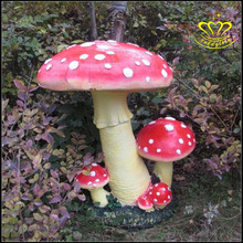Outdoor Tuin Decoratie <span class=keywords><strong>Grote</strong></span> Fiberglass Resin Cartoon Paddestoelen
