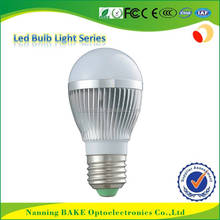 china hot sell ce rosh approved B22 E27 SMD 2835 5W bulb lights led