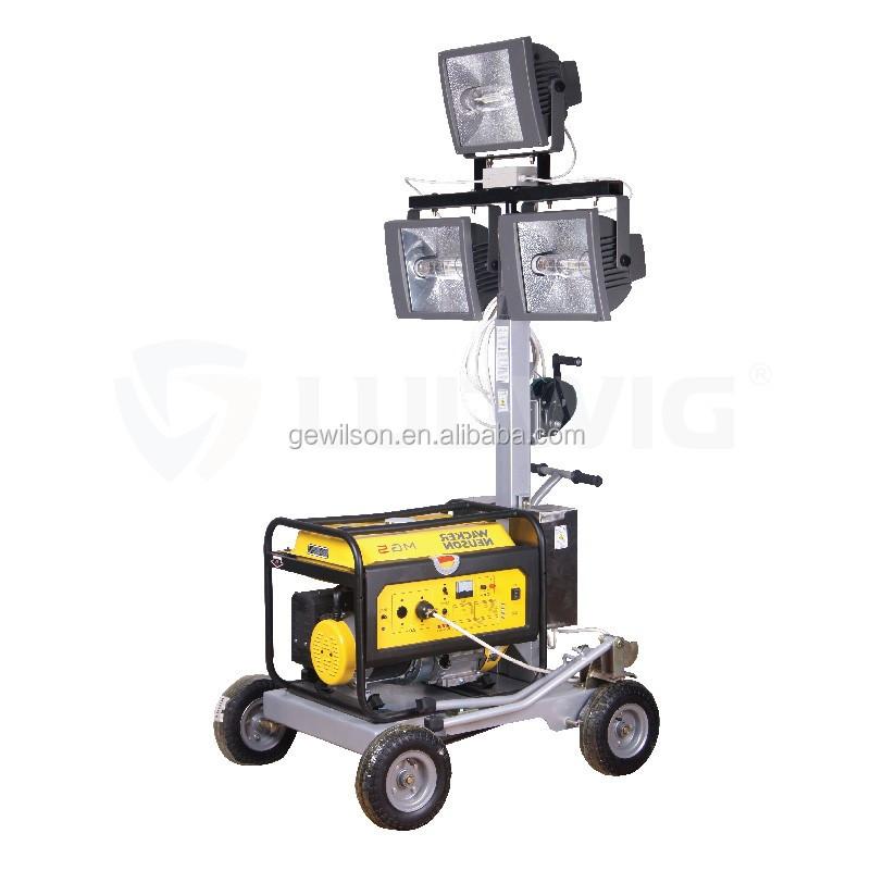 5.5m Industrial Flood Light Portable Movable Lighting